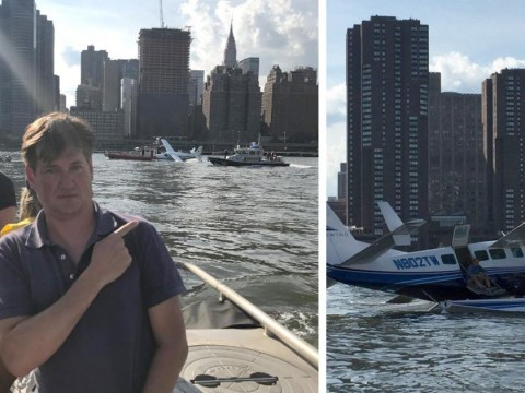Seaplane carrying co-creator of TV shows Scrubs and Cougar Town crashes in New York's East River