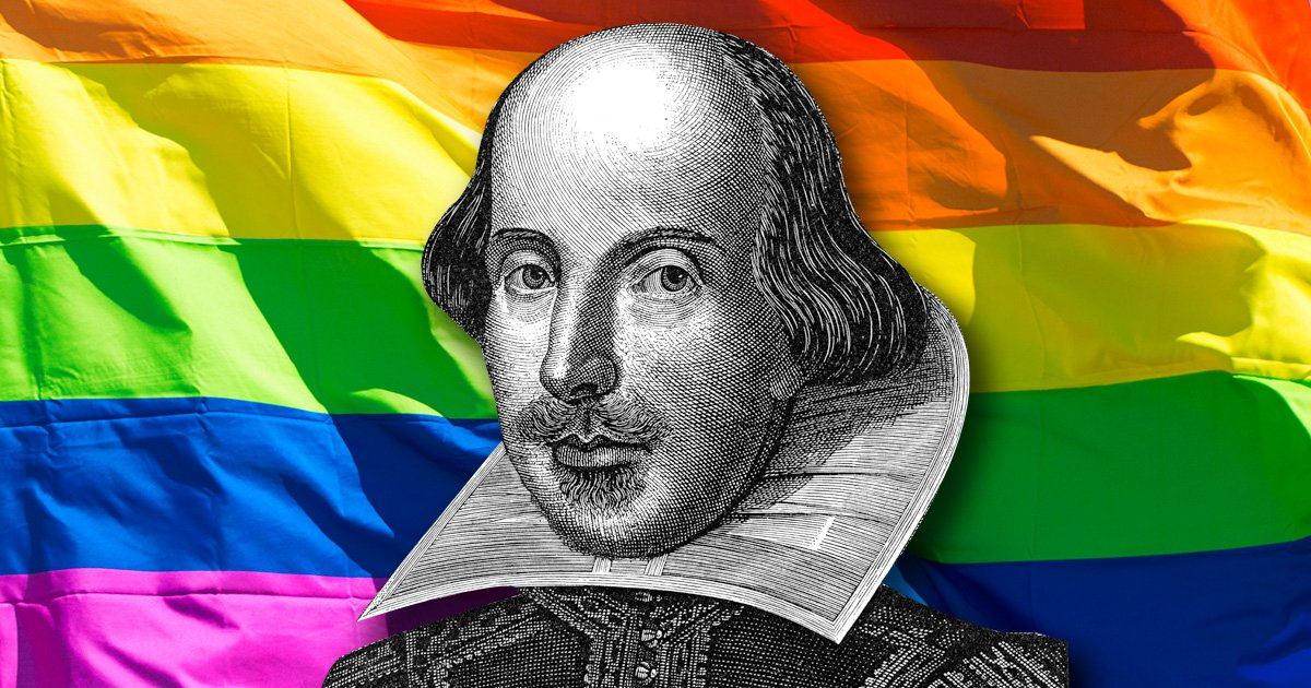 William Shakespeare was gay and wrote his sonnets for men, top theatre director says
