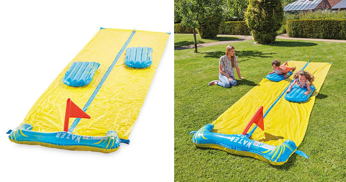 It's time to release your inner child, as Aldi is now selling Slip 'n' Slides