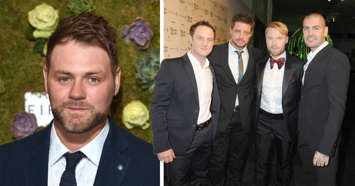 Westlife star Brian McFadden to join Boyzone on anniversary tour