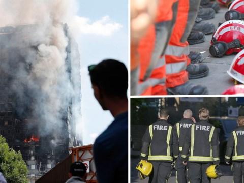 Firefighters who battled Grenfell Tower blaze describe horrors inside