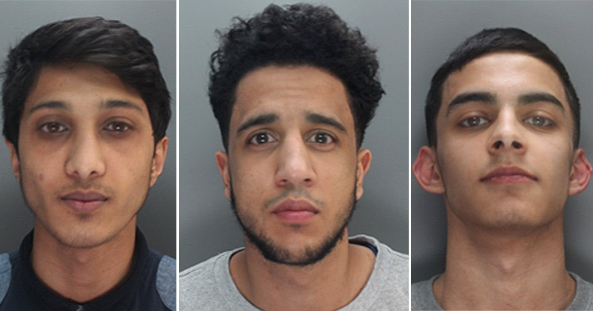 Gang of thugs rampaged through city centre attacking 'white non-Muslims'