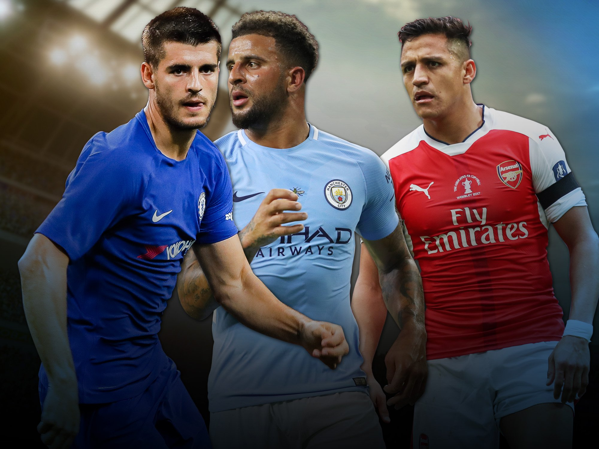 If the transfer window ended now: Arsenal revived, Man City champions & Chelsea dethroned