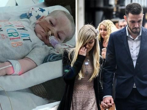 Charlie Gard's parents reveal their 'beautiful little boy' has died