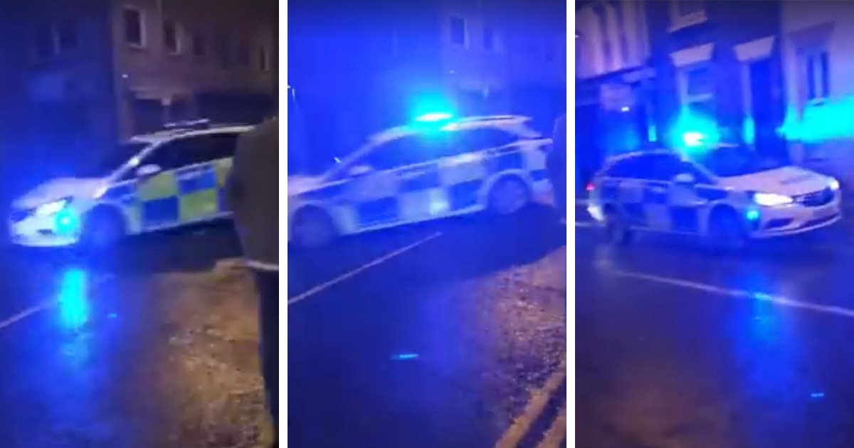 Police skid out of control 'like they're in the Fast and the Furious movie'