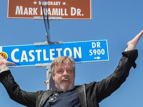 Mark Hamill gets a street named after him in San Diego – and then renames himself Luke Streetwalker