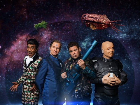 Take a sneak peek at Red Dwarf's series 12 opener where Cat must perfect his poker face