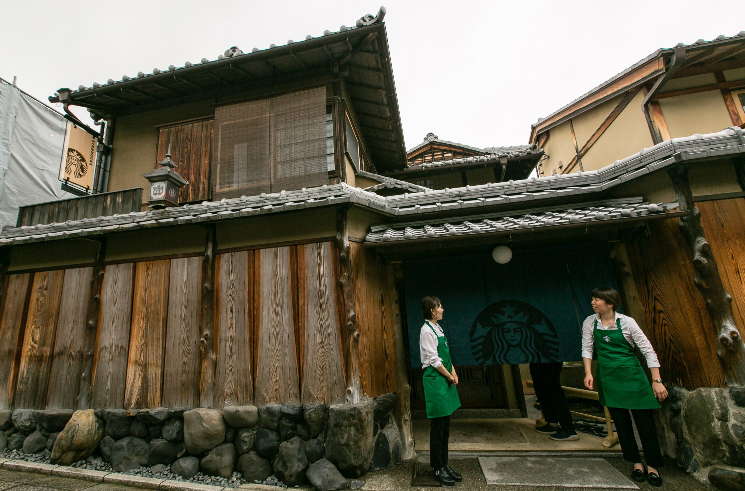 Starbucks is opening a new cafe in a historic, 200-year-old building in Kyoto, Japan and its STUNNING