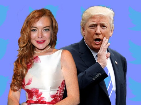 Attention, internet: Lindsay Lohan wants you to stop 'bullying' Donald Trump