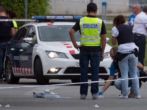 Man arrested after two police officers shot 'with AK-47' in Spain