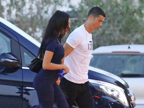 New dad Cristiano Ronaldo heads out in Ibiza with girlfriend Georgina Rodriguez amid claims she is pregnant