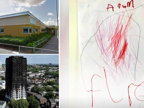 Nursery children encouraged to draw pictures of burning Grenfell tower to 'help them understand'