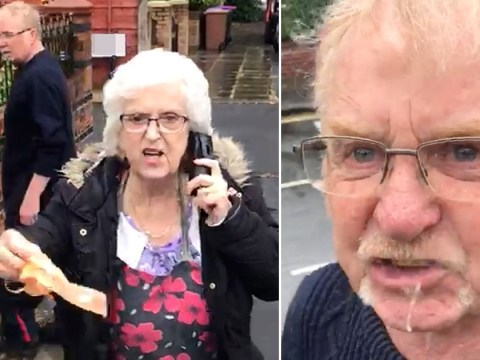 Pensioner in spitting-mad rant after his neighbour didn't pick up dog poo