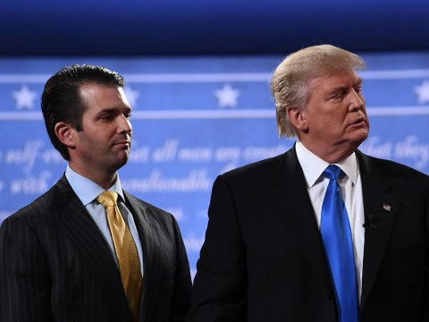 Donald Trump had the weirdest thing to say about his son over the Clinton emails