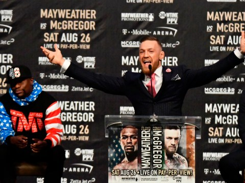 Conor McGregor establishes himself as people's hero in first encounter with Floyd Mayweather