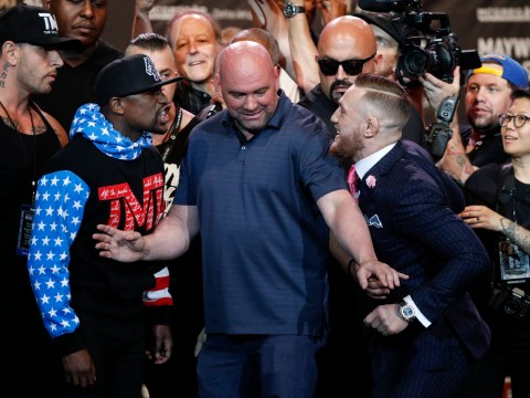 McGregor is getting railed for this racist comment he made about Mayweather