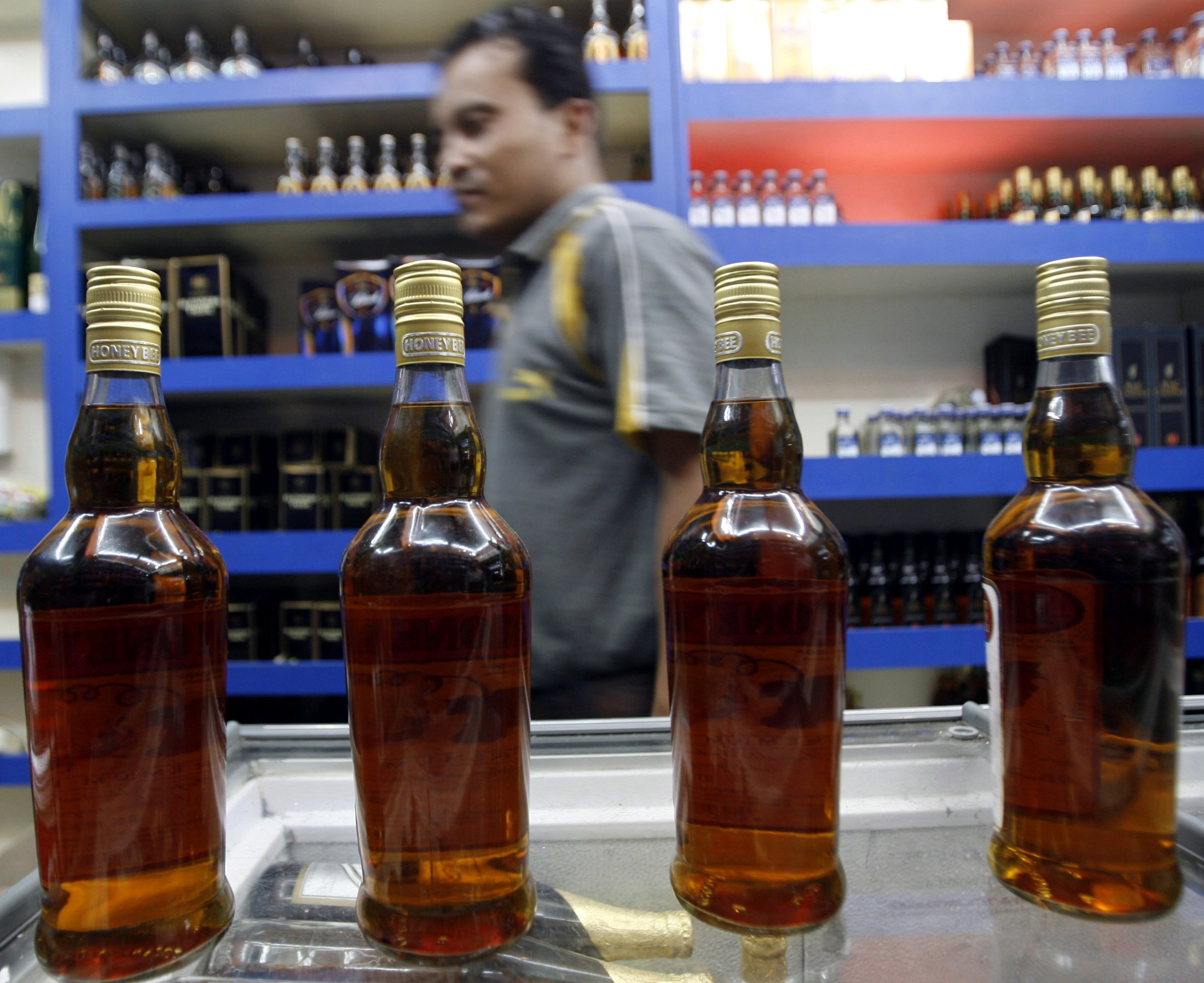 A city just banned ALL booze by accident