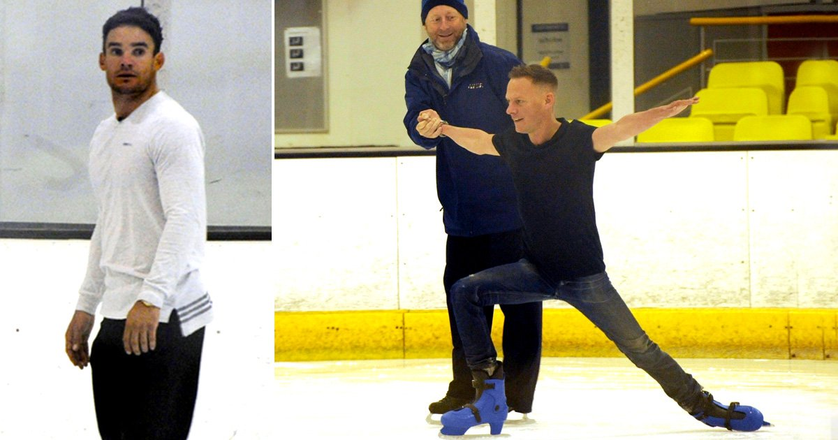 Antony Cotton, Sally Morgan and Max Evans tipped for Dancing On Ice as they all take to the rink
