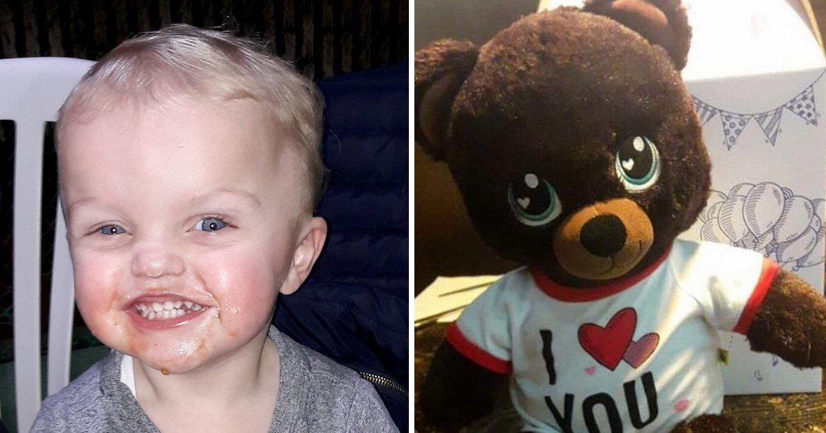 Grieving mother pleads for return of bear with dead baby son's voice on it
