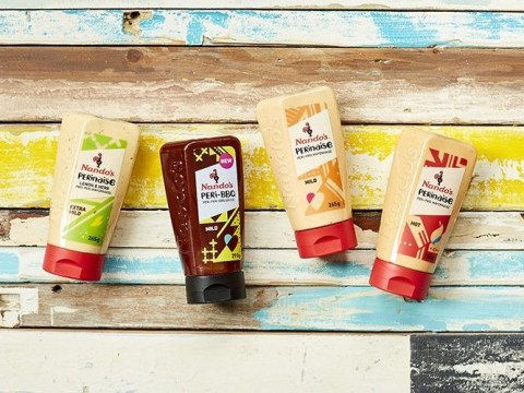 From tomorrow, you'll be able to buy new flavours of Nando's PERinaise in Asda