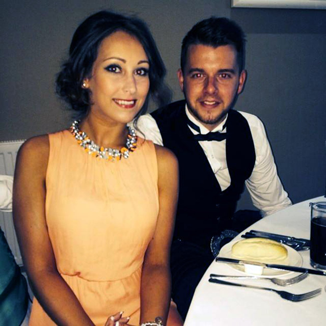 Men who saw newlywed before she fell from balcony say her death was a 'tragic accident'
