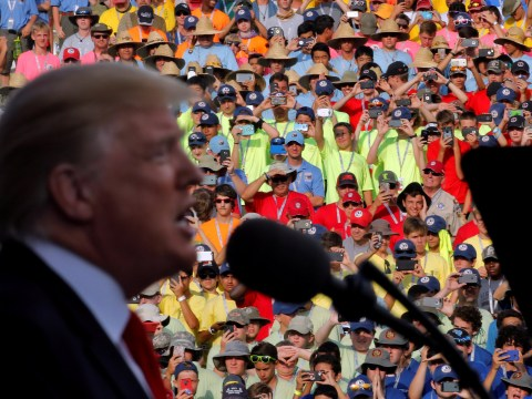 Scout chief sincerely apologizes for Donald Trump's comments