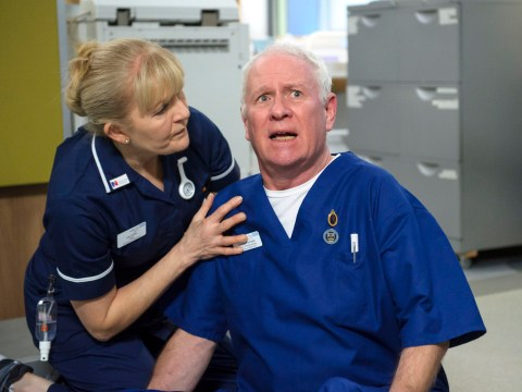 Casualty's Cathy Shipton defends co-star Derek Thompson's super-size salary