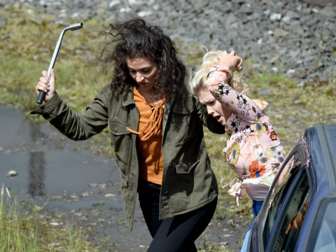 Coronation Street spoilers: Bad girl Mel attacks Bethany in these behind-the-scenes shock snapshots