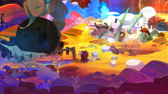 Pyre (PS4) – the prettiest sports game ever