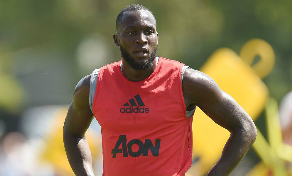 Romelu Lukaku trolls Eric Bailly after first Manchester United training session