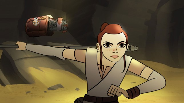 Star Wars Forces of Destiny, Sands of Jakku