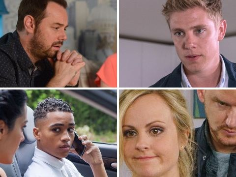 Steven's EastEnders lies exposed, Emmerdale violence, Coronation Street illness and 17 more soap spoilers