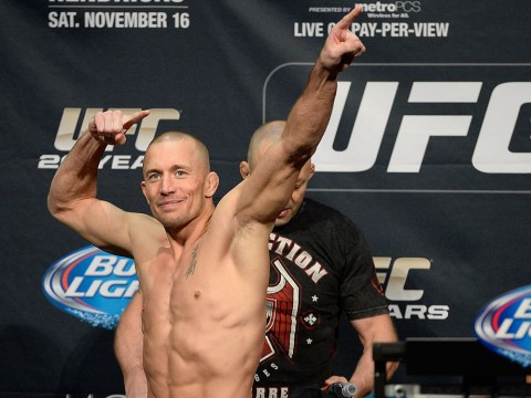 Georges St-Pierre insists UFC contract states he must defend middleweight title