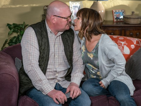 Emmerdale spoilers: Reunion for Paddy Kirk and Rhona Goskirk as they kiss?