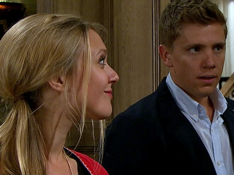 Emmerdale spoilers: Rebecca White confronts Robert Sugden over his lies