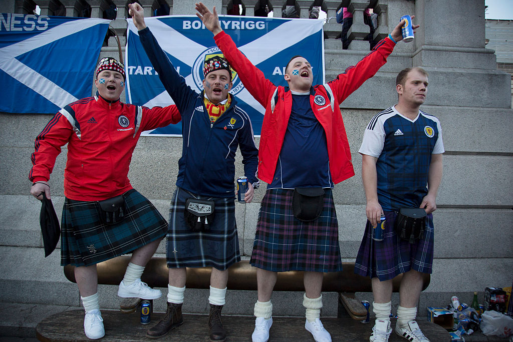 Scotland might be the only country in the world where their favourite drink isn't Coke