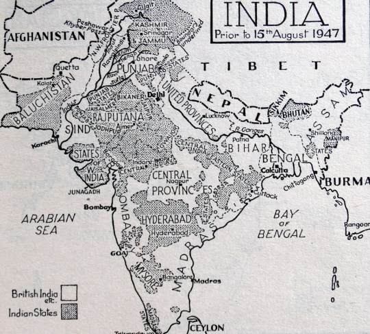 When and why was India partitioned when it gained