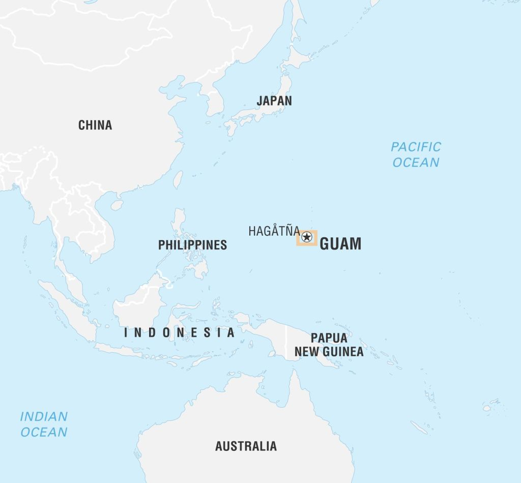Guam And Philippines Map Where is Guam and why is North Korea threatening it? | Metro News