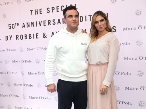 Robbie Williams claims his weight gain is due to a lack of 'sex with strangers'
