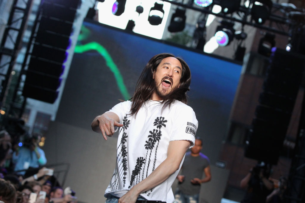 Steve Aoki's six-page V Festival rider included eggs, flour and baking supplies
