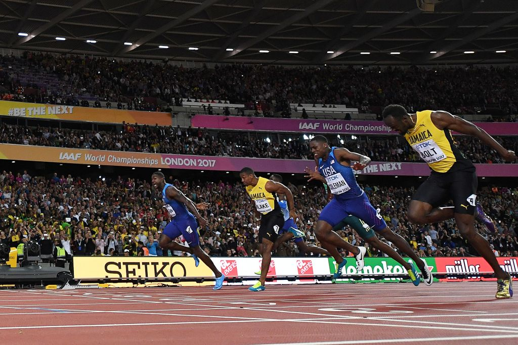 Usain Bolt blames bad start for shock 100m defeat to Justin Gatlin at World Athletics Championships