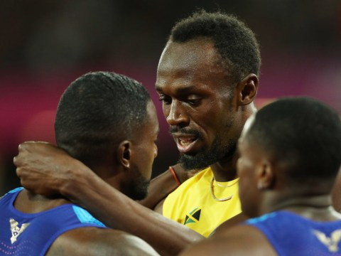 Justin Gatlin reveals the classy words Usain Bolt had for him after the 100m final at the World Athletics Championships
