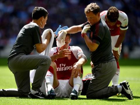 Arsene Wenger says Per Mertesacker injury 'not bad' ahead of Premier League opener