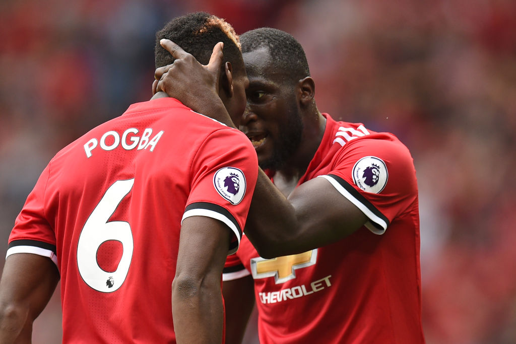 Paul Pogba declares his Manchester United attacking partnership with Romelu Lukaku officially in full flow
