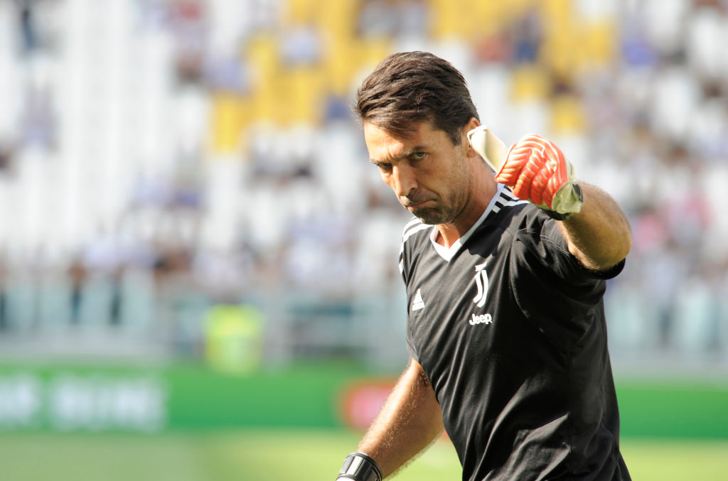 Gianluigi Buffon wants Juventus to draw Manchester United in the Champions League group stage draw
