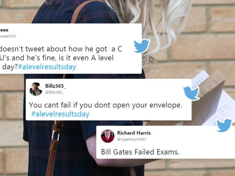 People are sharing their coping strategies on A-level results day