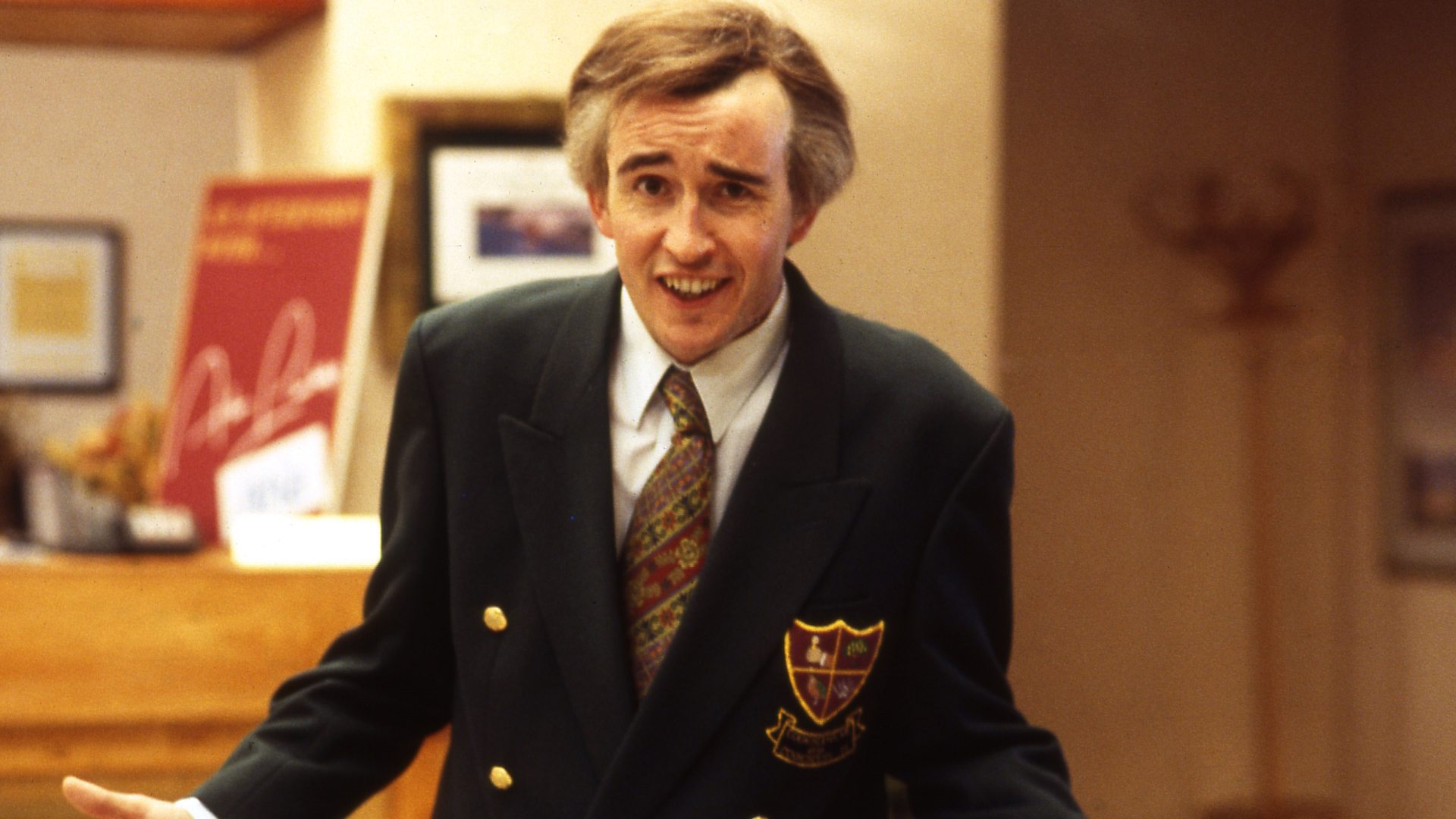 Alan Partridge delivers his ode to The Working Classes on National Poetry Day