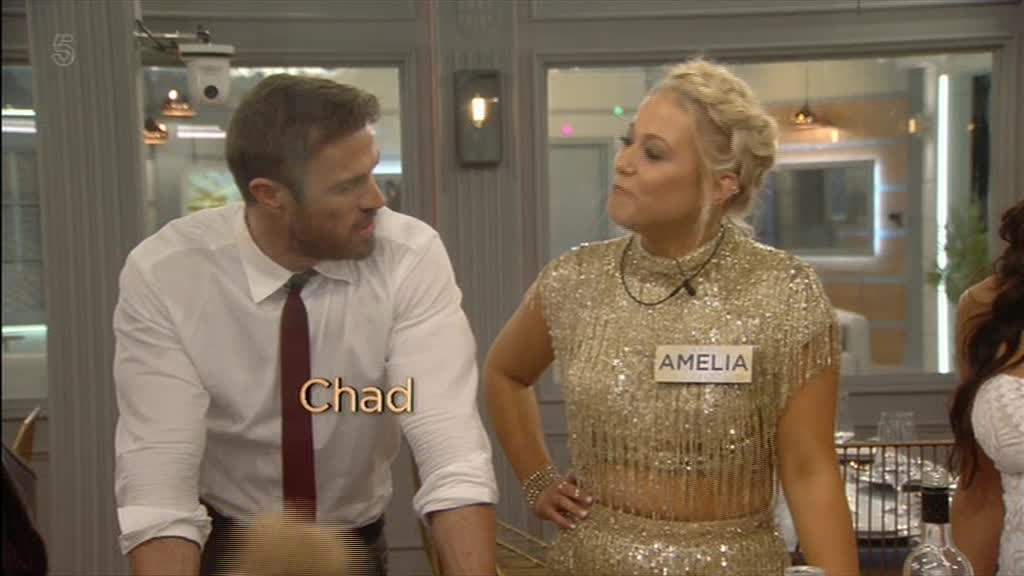 Rylan Clark predicts Celebrity Big Brother's serial womaniser Chad Johnson will go for Amelia Lily