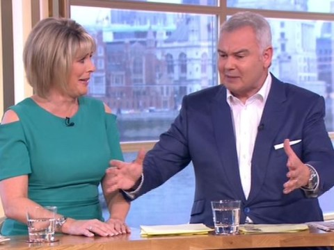 Eamonn Holmes tells Strictly's Ruth Langsford she's giving hope to 'women on the scrapheap'