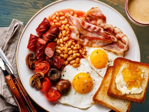 Full English breakfast items ranked from worst to best